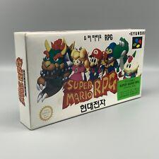 Jeu - Super mario RPG Super Comboy Nintendo  - SNES - Korean - Hyundai SFC