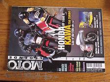 10µ Revue Moto Legende n°110 ESTROSI Honda VF 1000R Kawa 750 Turbo Musée Ducati