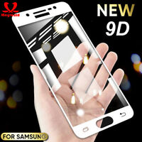 9D Full Tempered Glass Screen Protector For Samsung Galaxy A7 2018 J3/5/7 Pro A6