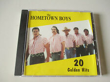 THE HOMETOWN BOYS-20 GOLDEN HITS--VERY RARE TEJANO CD-HACIENDA 195-LIKE NEW-1994