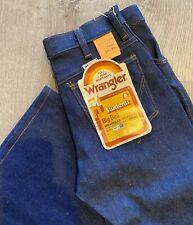 Vtg 1970s Wrangler Big Bell Bottom Denim Jeans Deadstock Nos Usa 28 X 30