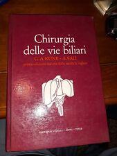 Chirurgia delle vie biliari-kune-sali-marrapese 1981