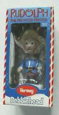 Rudolph Misfit Herbie/Hermey Elf Bobblehead Nodder Bobble Head Red-Nose Reindeer