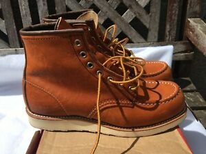 """Red Wing / Redwing 875 Heritage Work 6"""" Moc Toe Boot - Oro-Legacy UK 7"""