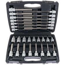 """Conjunto de llave de vaso 1/2"""" 30-tlg set clave hexagonal nuez para tornillos alomados"""