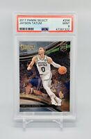 ❤️Jayson Tatum 2017 Panini Select Courtside #256 RC Rookie PSA 9 Mint Pop 50!❤️