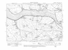 Cornwall 1900-1909 Date Range Antique Europe Sheet Maps