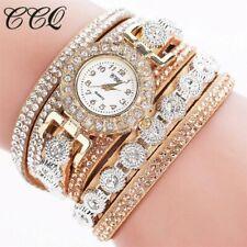 Watch Donna Gold Luxury Diamond Bracelets with Rhinestone Luxury Various Colo