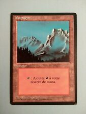 Mountain (Fog) FRENCH (BB) 1X MP Revised 3rd MTG Magic the gathering