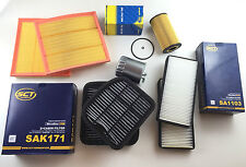 OIL FILTER 2x AIR 2x ACTIVATED CARBON 2x INTERIOR FUEL S-CLASS W220 400 CDI