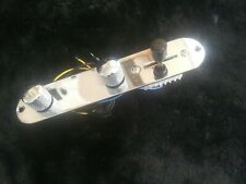 Tele Control Plate Loaded Chrome  Metal 3-Way Switch Prewired w/ imperfection