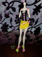 Monster High Gloom Beach Draculaura Outfit - Swimsuit & Shoes # 479
