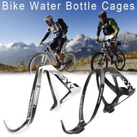 Carbon Fiber MTB Bike Bicycle Cycling Water Drink Bottle Holder Rack Cage Sight