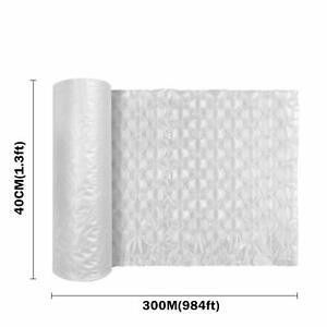 "984ft x 16"" Air Cushion Machine Film Small Bubble Pillow Packaging Padding Roll"