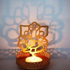 Ganesh Idol shadow candle holder for puja  hinduism yoga and meditation diwali