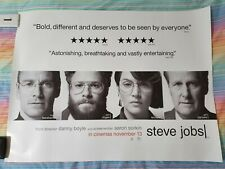 "Steve Jobs - Large Wide Quad Genuine Cinema Poster 40"" x 30"" inch Apple FANS!"