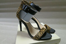 Isabella Brown  High Heels Ankle Strap Leopard Print  Colour   Size 8.5