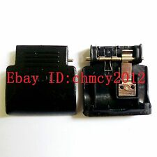 New SD Memory Card Door Cover For Nikon D5100 With METAL & Spring