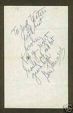 Gene Tunney boxing great signed letter 1897-1978