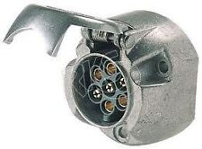 Hella 4901 7 pin socket; round metal trailer socket; car; truck; trailer; 4WD