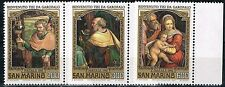 San Marino Garofalo Famous Paintings set 1981 MNH