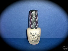 OPI MATTE Top Coat Nail Polish Instantly Changes the look of your mani/pedi VHTF