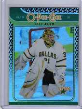 ALEX AULD 09/10 OPC Update Gold Rainbow #695 O-Pee-Chee Hockey Card Insert