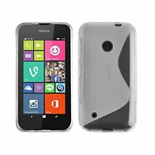 Étuis, housses et coques transparents transparent en silicone, caoutchouc, gel pour téléphone mobile et assistant personnel (PDA) Nokia