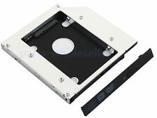 2nd HDD SSD Caddy HD Disco Duro Adaptador para 12.7mm SATA unidad óptica bay DVD