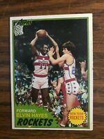 1981-82 Topps  #42 Elvin Hayes   Houston Rockets   Ex