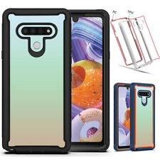 For LG Stylo 6 Phone Case Armor Defender Heavy Duty Bumper Clear Rugged Cover