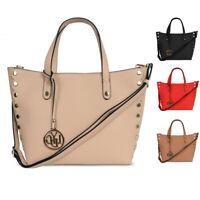 Ladies LYDC Tassel Shoulder Bag Girls Faux Leather Handbag WAG Tote Bag GL4889