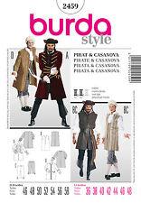 burda style Schnittmuster No 2459 Casanova, Pirat & Seeräuber