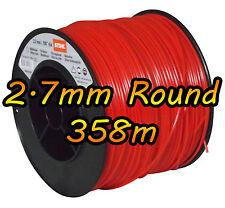 Stihl 358m de 2.7mm round ligne débroussailleuse trimmer nylon cordon fil