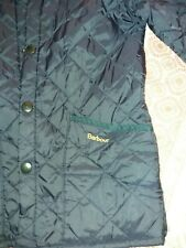 Navy barbour jacket. Small....approx 8 yrs