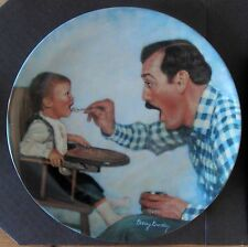 """Open Wide"" Betsey Bradley Father Collector Plate w/Coa"
