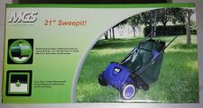 "Brand NEW MGS Brand 21"" Lawn Leaf Garden Sweeper Sweepit - Multi-functional"