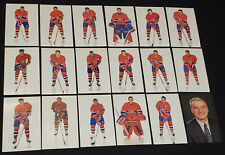 1990's - MONTREAL CANADIENS - NHL - HOCKEY PLAYERS - POSTCARDS (18)