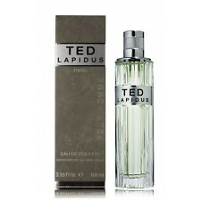 TED LAPIDUS POUR HOMME EAU DE TOILETTE 100ml VAPORISATEUR NEUF SOUS BLISTER