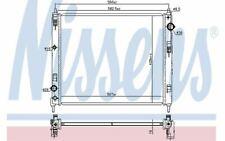 NISSENS Car Radiator for NISSAN JUKE 606119 - Discount Car Parts