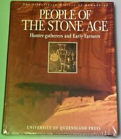 Illustrated History Of Humankind People Of Stone Age hardcover NEW SEALED UQP