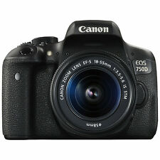 Canon EOS 750D Digital SLR with 18-55mm IS STM Lens (ML1569)