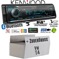 Kenwood Autoradio für VW Bus T4 DAB+ Bluetooth iPhone Android Spotify VarioColor