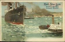 Red Star Line Steamships H-4 1905 - H. Cassiers Postcard