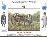 A Call To Arms Waterloo British 9-pound Cannon Napoleonic Wars Soldier Kit 1:32