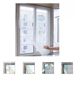 Insect Screen Window Mesh Net Fly Bug Mosquito Moth Door Tape UK