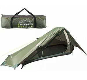 Summit Eiger 2 Man Person Double Trekking Hiking Tent Coated Quick & Easy Pitch