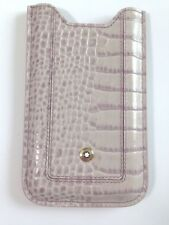 Mont Blanc iPhone 3 G, 3 GS, 4G ,4, 4S Phone Case Cover Sleeve Leather Grey