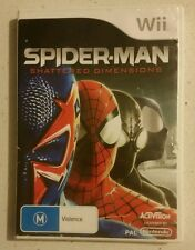 WII Spider-Man Shattered Dimensions - NINTENDO WII / WII U- Fast Free Post!