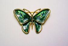 Anne Klein Enameled Butterfly Pin